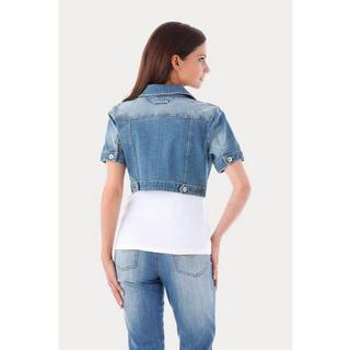 Jeansjack in used wassing
