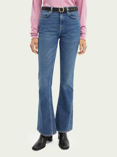 De Charm flared jeans - Sea Washed