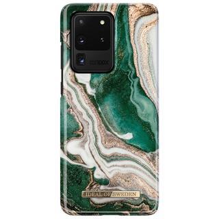 Fashion Backcover voor de Samsung Galaxy S20 Ultra - Golden Jade Marble