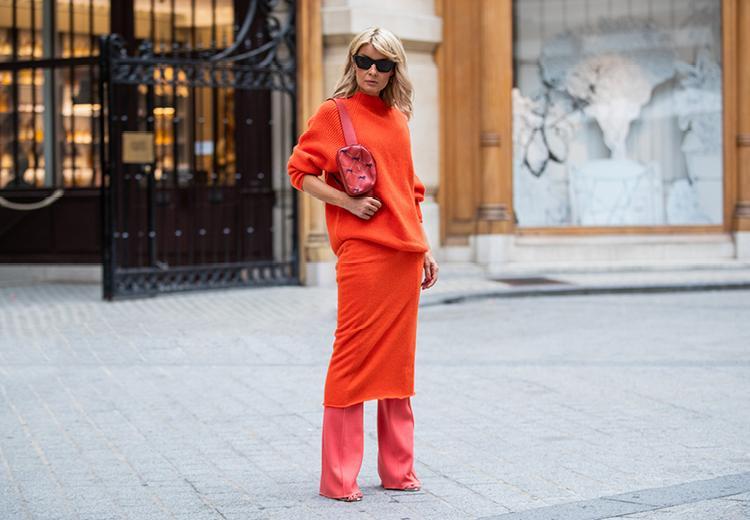 Trend alert: een broek onder je jurk dragen