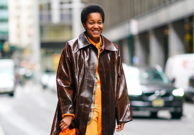 5 manieren om leren kleding te dragen