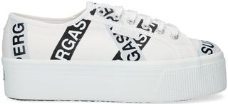 Witte Lage Sneakers 2790 Lettering Tape