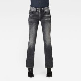 Midge Mid Bootcut Jeans - Grijs - Dames