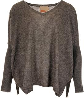 camille trui donkergrijs ac122011c -gris chine fonce