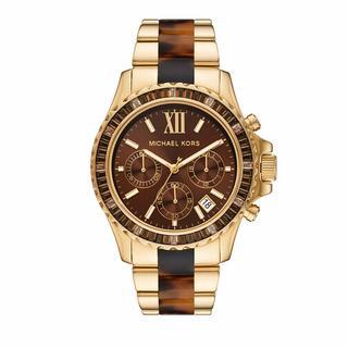 ' Horloges - Women''s Everest Chronograph Stainless Steel Watch in goud voor dames'