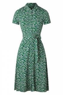 60s Olive Perris Dress in Opal Green