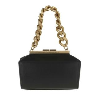 Clutches - Small Chunky Chain Clutch Bag in zwart voor dames