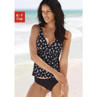 Beugeltankini in stipdesign