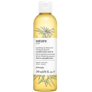 Nourishing In Shower Oil With Hemp Derived Cannabis Sativa Seed Oil NOURISHING IN-SHOWER OIL WITH HEMP-DERIVED CANNABIS SATIVA SEED OIL