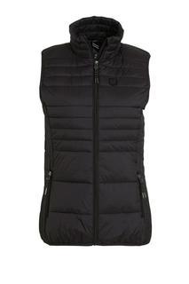 outdoor bodywarmer zwart