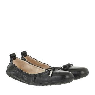 'Tod''s Loafers & ballerina schoenen - Gommino Ballerina Leather in zwart voor dames
