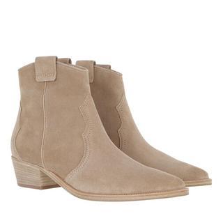 Boots & laarzen - Eve Ankle Boots Suede in beige voor dames