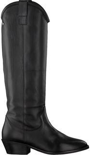 Zwarte Hoge Laarzen 01-130