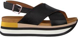 Zwarte Sandalen Cordo