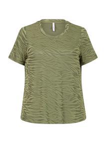 Dames Top print groen