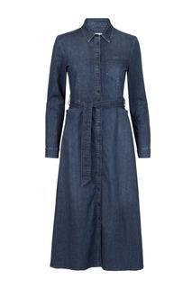 Dames Denim jurk blauw