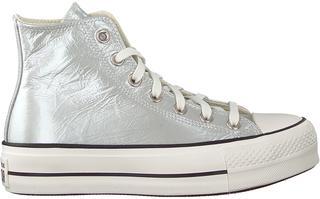 Zilveren Hoge Sneaker Chuck Taylor All Star Lift Hi