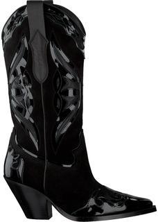 Zwarte Lange Laarzen 12514 Claire Rose X