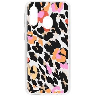 Design Backcover voor Samsung Galaxy A40 - Leopard Summer