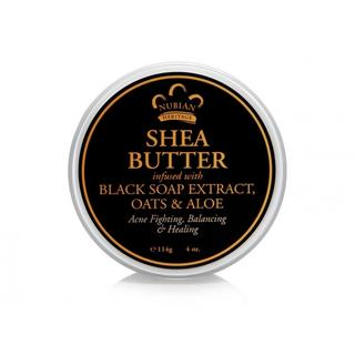 African Black Soap Infused Shea Butter - 113g