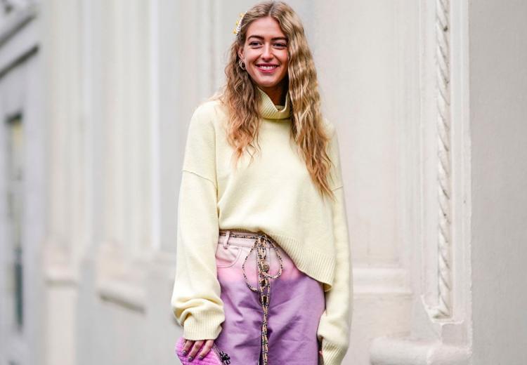 De vrolijkste trend van nu: pastelkleurige jeans