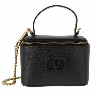 Pochettes - VSling Pochette Leather in zwart voor dames