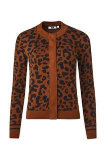 Dames luipaarddessin vest