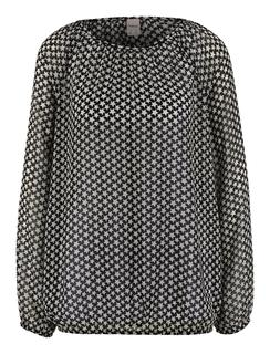 Gedessineerde blouse