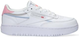 Witte Lage Sneakers Club C Double Wmn